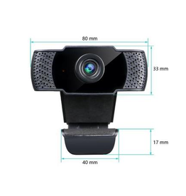Vimtag Vimtag webcam 1080P HD with microphone, video calls, USB Plug, Widescreen Video
