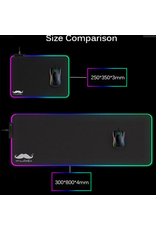 RGB Gaming Mouse Pad, 7 LED Colors, 300*800*4mm