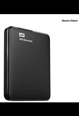Western Digital WD 2TB Elements Portable Hard Drive USB 3.0 Model WDBU6Y0020BBK-WESN Black