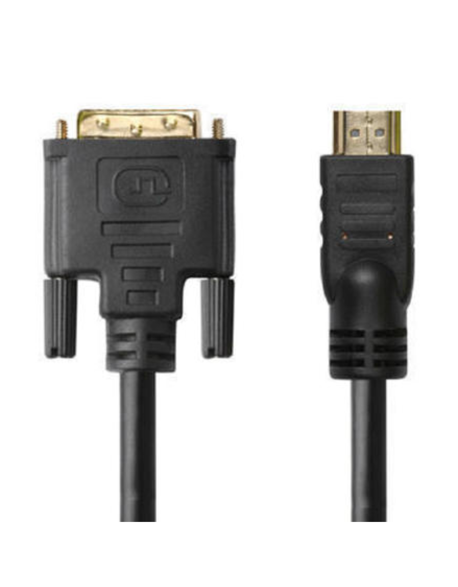 10ft HDMI to DVI-D Dual Link 28AWG High Speed Bi-Directional Cable - Black