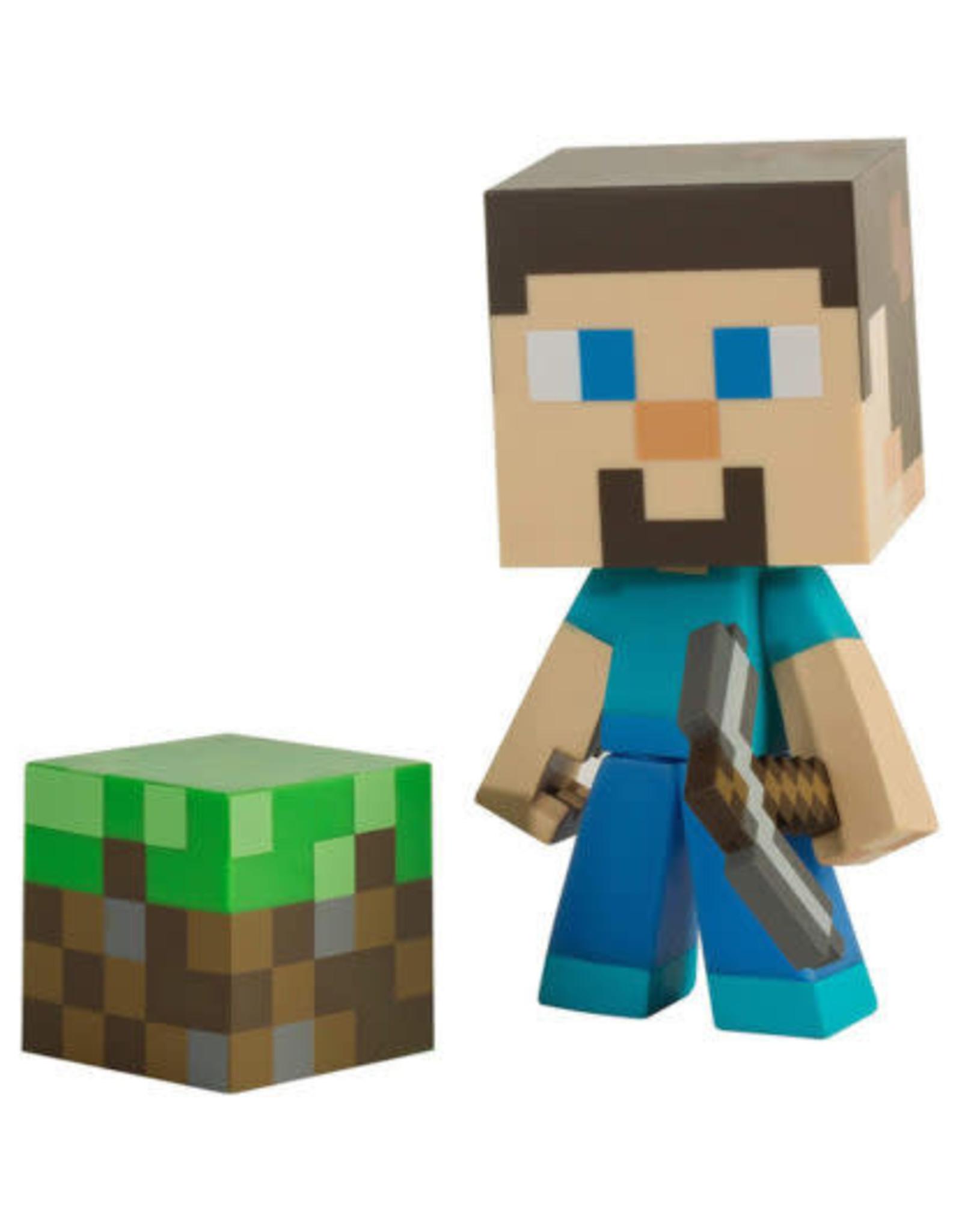 """Jinx Jinx - Minecraft - Steve 6"""" Vinyl Figure"""