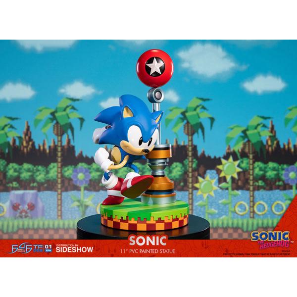 "F4F Sonic the Hedgehog - Green Hill Zone 11"" Statue"