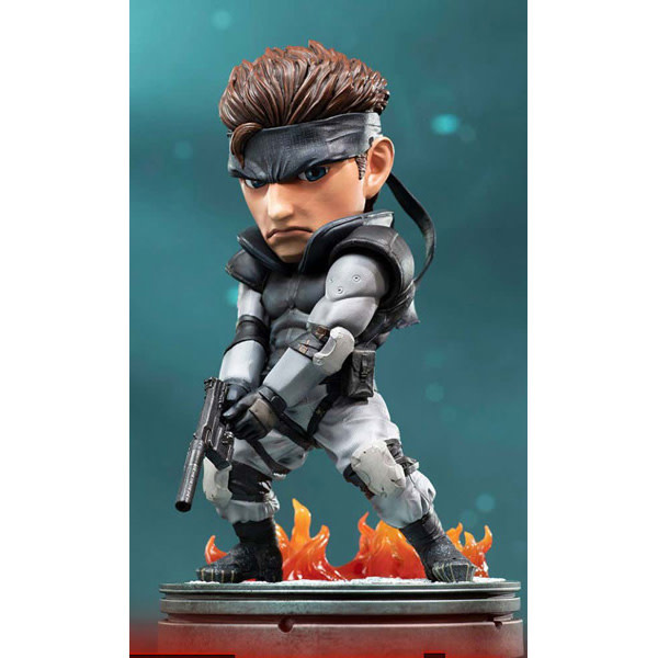 """F4F Solid Snake 8"""" Statue"""