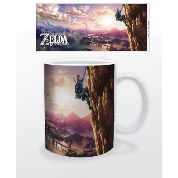 Pyramid America The Legend of Zelda: Breath of Wild - Link's Climb Mug