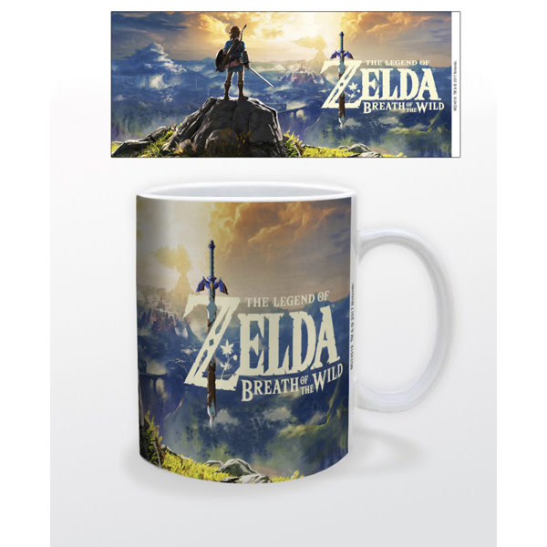Pyramid America The Legend of Zelda: Breath of Wild - Sunset Over Hyrule Mug
