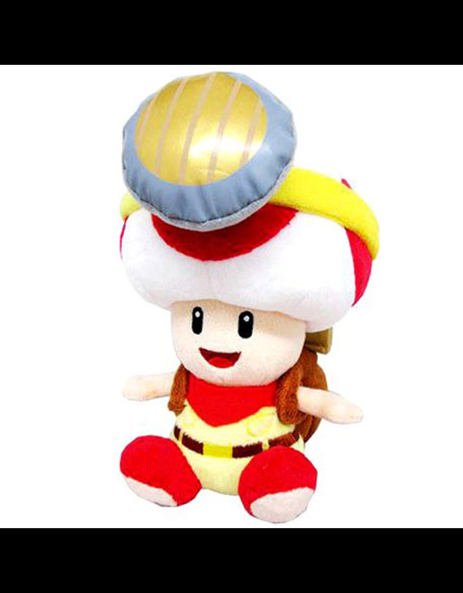 "Little Buddy Little Buddy - Super Mario Bros - Captain Toad (Sitting) - 7"" Plush"