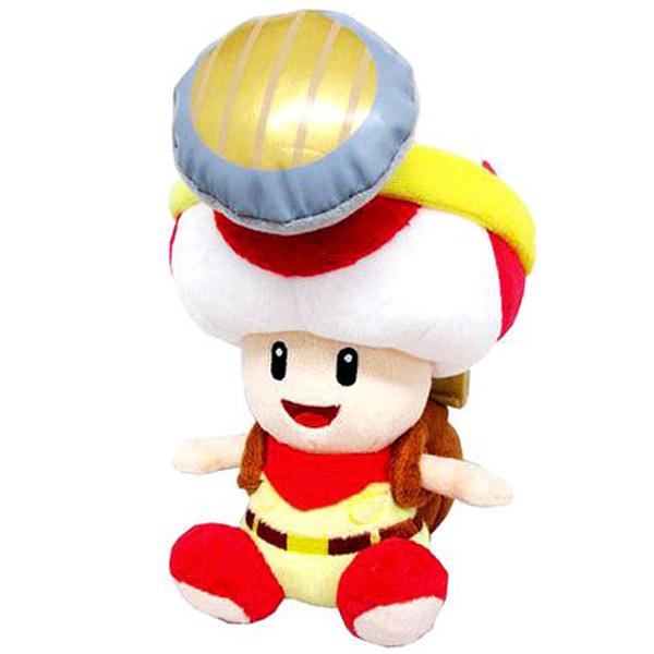 "Little Buddy Super Mario Bros - Captain Toad - 7"" Plush"