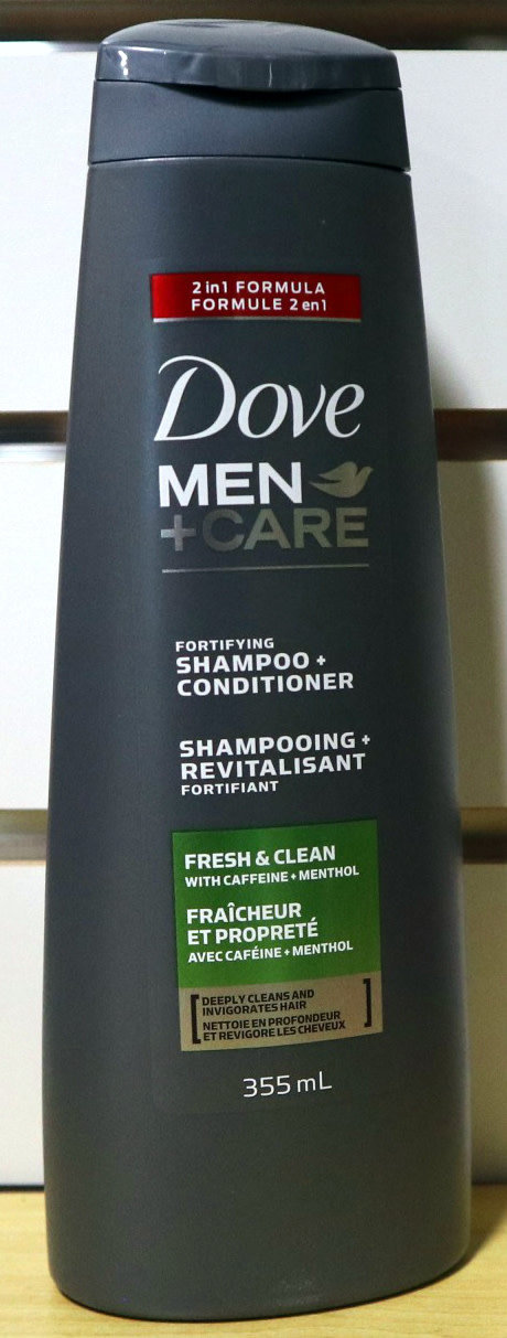 Dove Dove - Men's - Shampoo - Deep Clean - 355mL