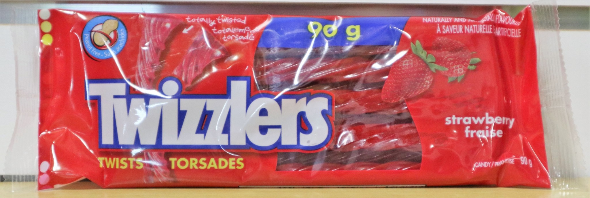 Twizzlers Twizzlers - Strawberry - 90g
