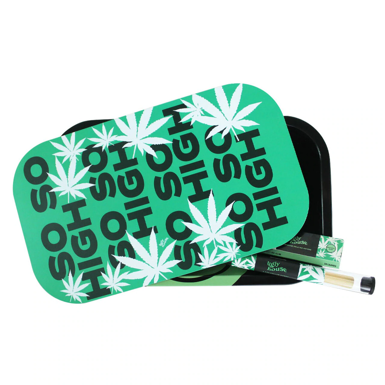 Ugly House Ugly House - Rolling Tray Bundle - So So High