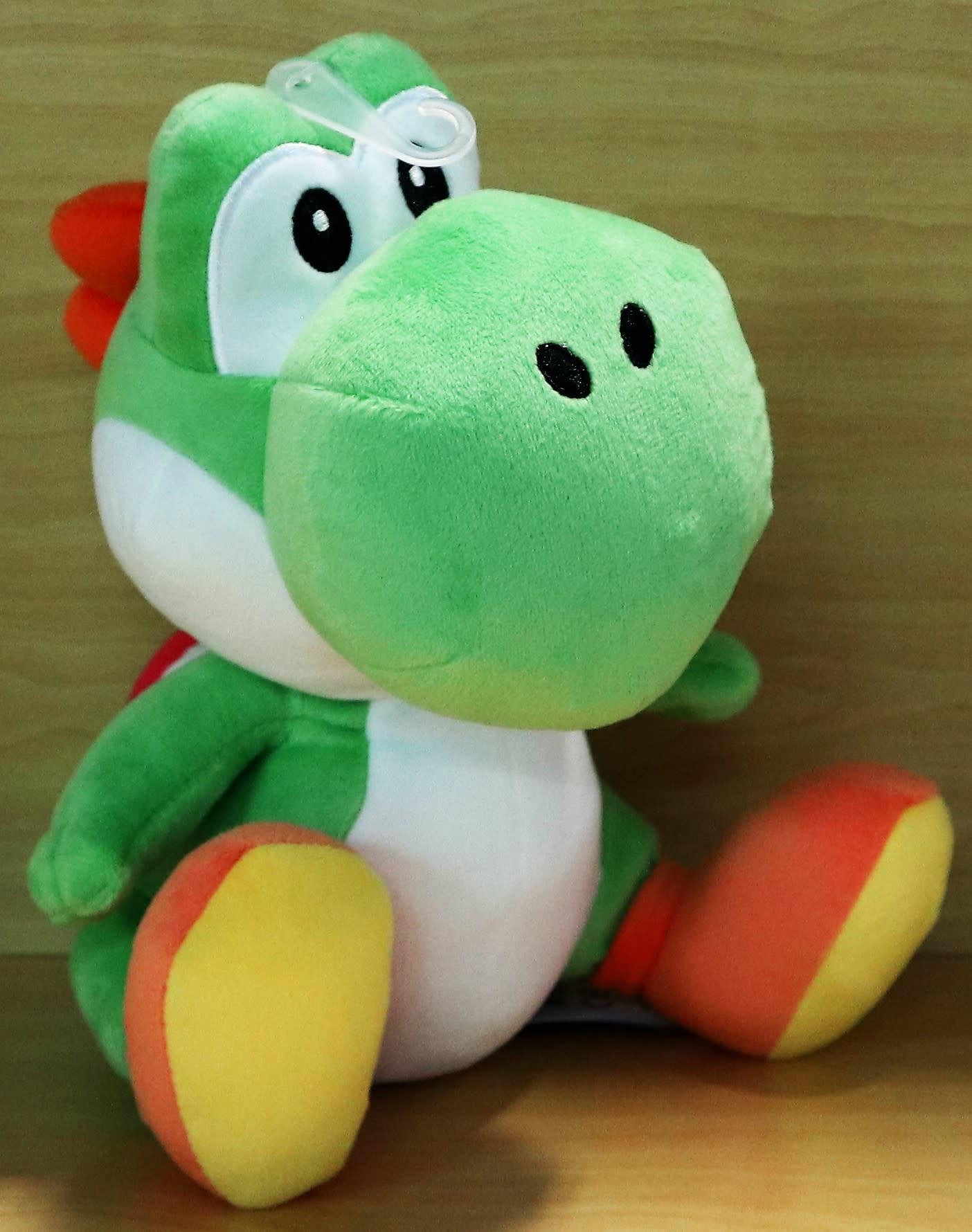 "Little Buddy Super Mario Bros - Green Yoshi - 10"" Plush"