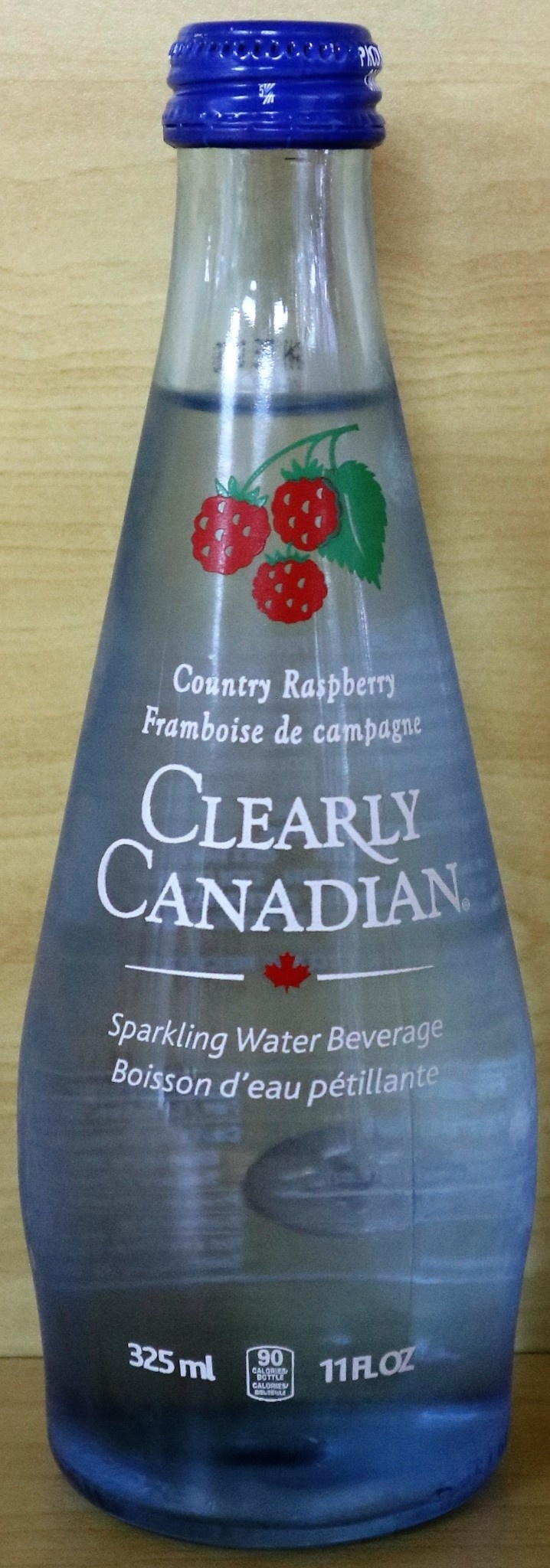 Clearly Food & Beverage Clearly Canadian - Country Raspberry - 325mL bottle