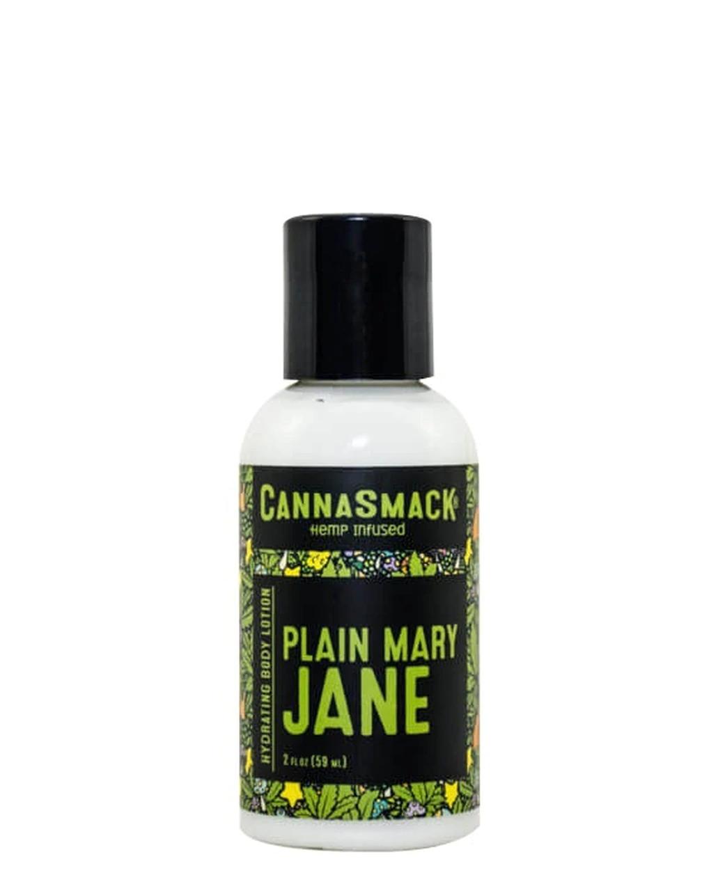 Cannasmack **CLEARANCE** Cannasmack - Hydrating Lotion - Plain Mary Jane 2oz