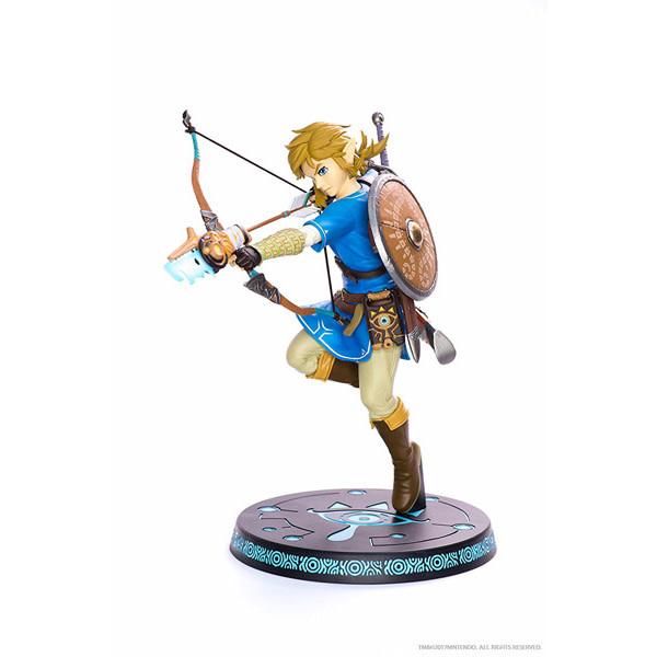 "F4F First 4 Figures - Legend of Zelda - Breath of the Wild Link  10"" Statue"