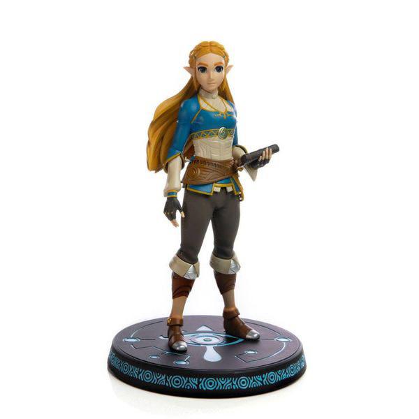 """F4F First 4 Figures - Legend of Zelda - Breath of the Wild Princess Zelda 10"""" Statue"""