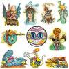 Sean Dietrich Sean Dietrich Art - Sticker Series Vol 1