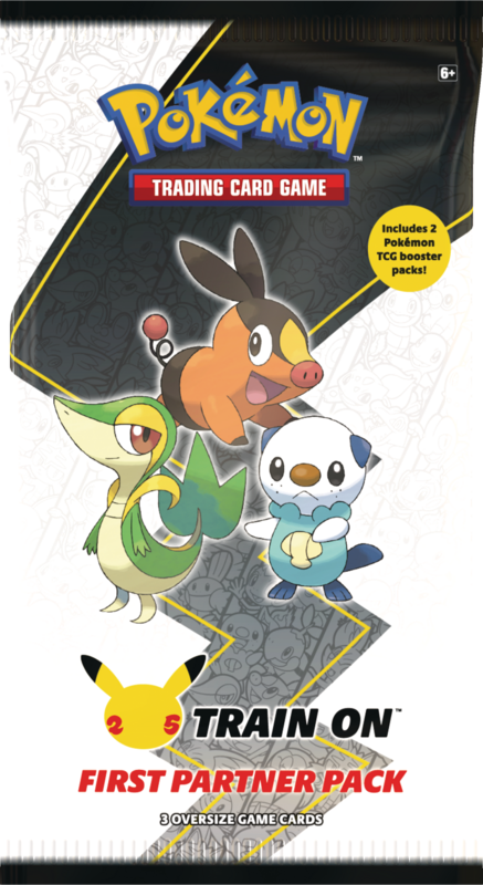 Pokemon Company Pokemon Trading Card Game - Unova Region First Partner Pack