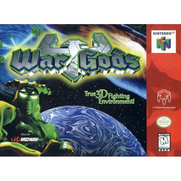 Nintendo Used Game - N64 - War Gods [Cart Only]
