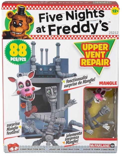 McFarlane Toys McFarlane- FNAF - Upper Vent Repair 88pc Set