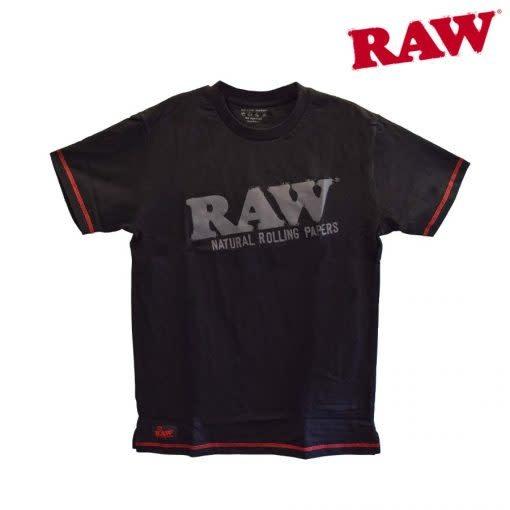 RAW RAW - Stash Pocket Tee (Black)