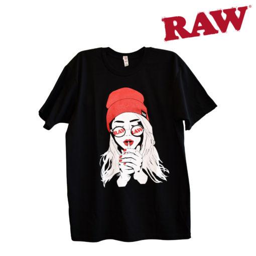 RAW RAW - Smoking Girl Tee