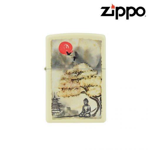 Zippo Zippo - Windproof Lighter  - Pagoda Bonsai Buddha