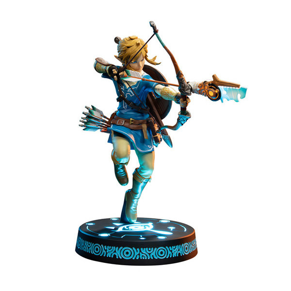 """F4F First 4 Figures - TLOZ: Breath Of The Wild -  Link [Collector's Edition] 10"""" Statue"""
