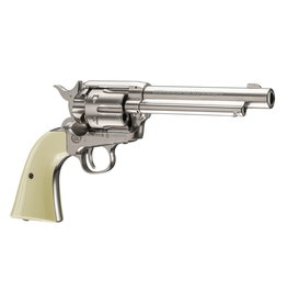 UMAREX COLT PEACEMAKER SINGLE ACTION ARMY 45 NICKEL .177 CAL