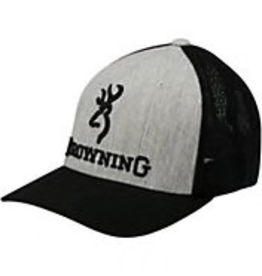 BROWNING BROWNING CAP BRANDED HEATHER S/M