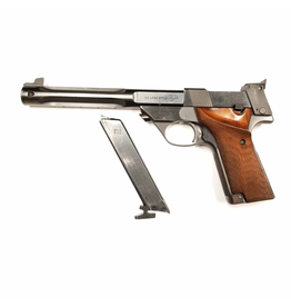 USED HIGH STANDARD MODEL 107 MILITARY 22LR