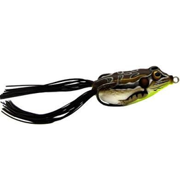 """KOPPERS KOPPERS LIVE TARGET TAN/YLW FROG 2 5/8"""" X3/4 OZ SURFACE"""