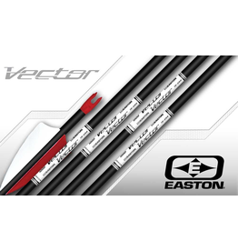 "EASTON EASTON ARROWS VECTOR 1400 2"" FEATHERS 10-22#"