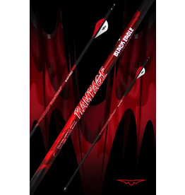 "BLACK EAGLE BLACK EAGLE RAMPAGE FLETCHED ARROWS 003"" 400"