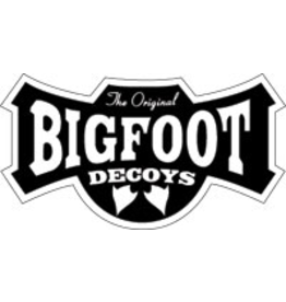 CLINTON DECOY CO BIGFOOT STANDARD FULL BODY GOOSE 4PK  ORIGINAL USA MADE