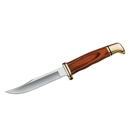 BUCK BUCK KNIFE WOODSMAN COCOBOLA