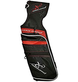 CARBON EXPRESS CARBON EXPRESS CX FIELD QUIVER RED/ BLACK RT HAND
