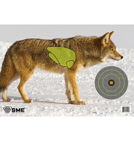 SME SME COYOTE GAME TARGETS 3PK
