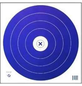 "Maple Press Inc. NFI-1P 1-SPOT 40cm BLUE TARGET FACE 17""x17"""