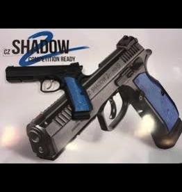 """CZ CZ SHADOW 2 BLUE/BLACK 9MM LUGER 4.7"""" PISTOL"""