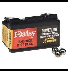 "DAISY DAISY POWERLINE SLINGSHOT AMMO 3/8"" 70 CT"
