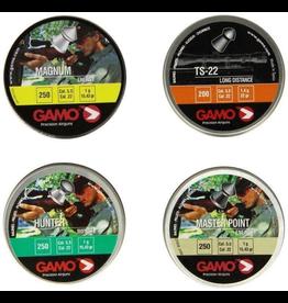 GAMO GAMO COMBO PELLET PACK MASTER POINT, HUNTER, MAGNUM .22 CAL 1000 ASSORTED