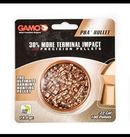 GAMO GAMO PBA BULLET PELLET .22 CAL 100 CT