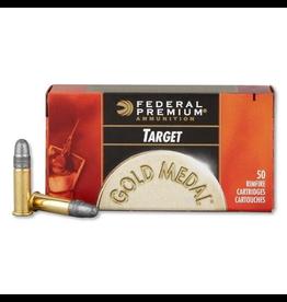Federal FEDERAL .GOLD METAL TARGET 22 LR 40GR 50 RDS
