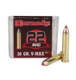 HORNADY HORNADY 22 WMR 30GR V-MAX 50 RDS