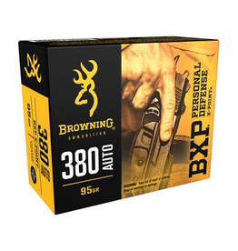 BROWNING BXP 380 AUTO 95 GR JHP 20 RDS