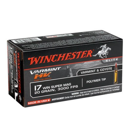 WINCHESTER WINCHESTER VARMIT HV 17 WSM 20GR  50 RDS