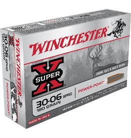WINCHESTER WINCHESTER SUPER-X 30-06 180GR POWER POINT 20RDS