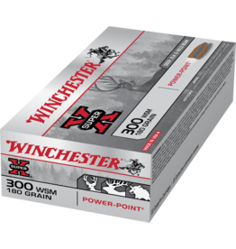 WINCHESTER WINCHESTER SUPER-X 300 WSM 180GR POWER POINT 20 RDS