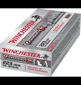 WINCHESTER WINCHESTER 223 REM VARMIT X 55GR POLYMER TIP 20 RDS