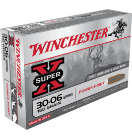 WINCHESTER WINCHESTER SUPER-X 30-06 150GR POWER POINT 20RDS
